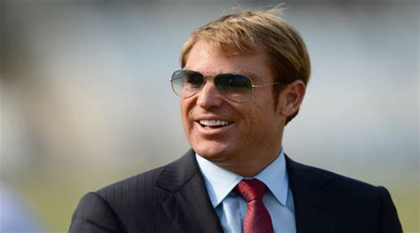does shane warne wear a hair shane warne to wear england jersey after losing bet