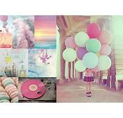 Comment Posted In Jolies Choses  Photo Ballon Fond D&233cran Pastel