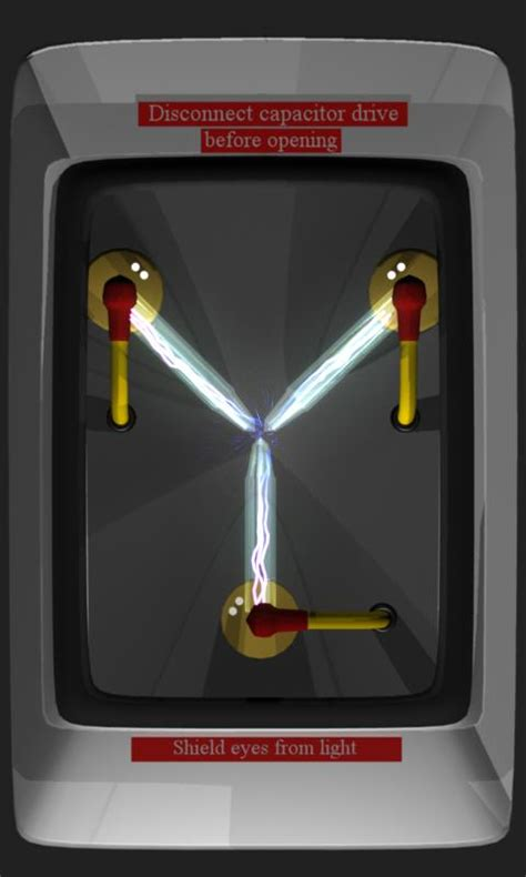 flux capacitor live wallpaper browse deviantart