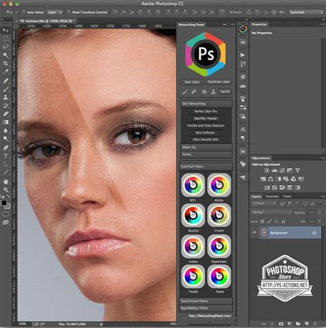 makeup psd templates for photoshop retouching panel photoshop plug in by gokhanbartu on