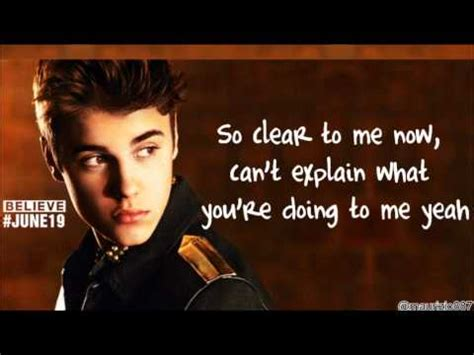 krafta justin bieber thought of you justin bieber thought of you lyrics youtube