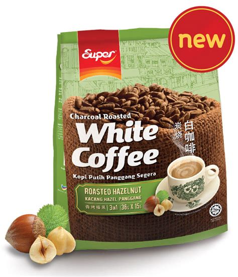 Town White Coffee 3 In 1 Hazelnut white coffee market malaysia charcoal roasted 3 in 1 hazelnut white coffee