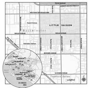 saigon california map guide to saigon orange county sunset