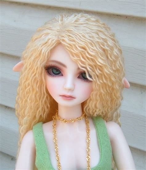 jointed doll wigs yarn wig tutorial for bjd but could be adapted for blythe