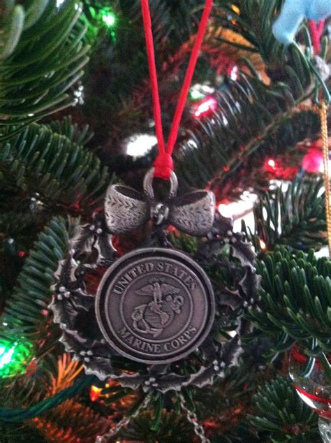usmc christmas tree ornament usmc pinterest