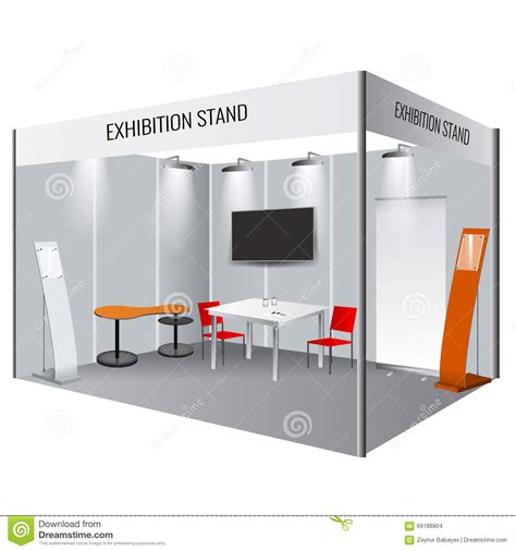 exhibition stand design template creative exhibition stand design booth template
