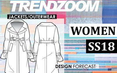 design forecast 5 trends to watch for in 2017 trendzoom design forecast women jackets outerwear s s 18