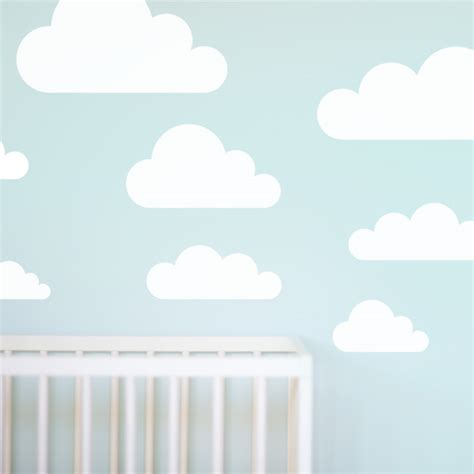 cloud stickers for walls cloud wall stickers for nursery