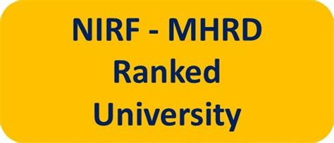 Mhrd Ranking Of Mba Colleges by M S Ramaiah Of Applied Sciences Msruas