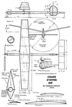 plans schematics  balsa wood glider  plans