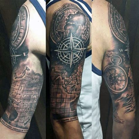 quarter sleeve tattoo ideas male 60 half sleeve tattoos for men manly designs and