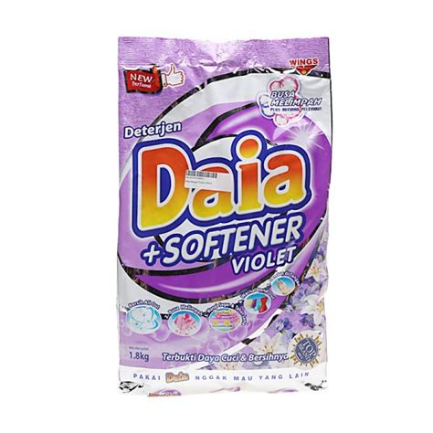 Daia Lemon 1 8kg daia softener violet 1 8kg