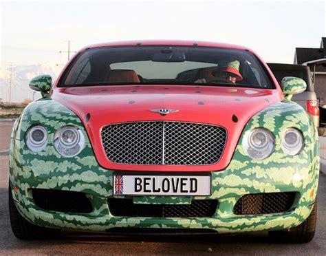 bentley watermelon cho 225 ng với xe sang bentley continental gt phi 234 n bản dưa hấu