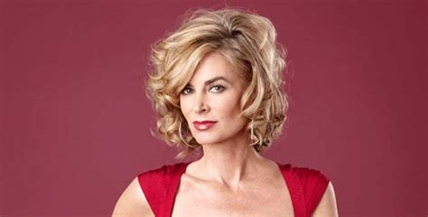 the young and the restless eileen davidson defends hunter king in the young and the restless eileen davidson returning to rhobh