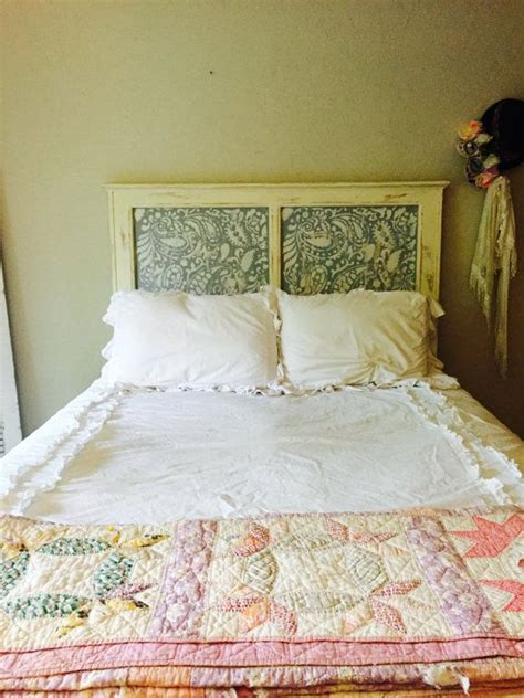 Paisley Headboard by 56 Best Images About Stenciled Headboard Ideas On
