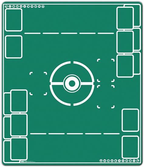 Tcg Mats by Battlefield Two Player Mat Inked Gaming
