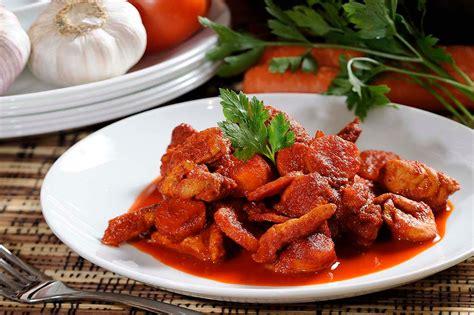 cocina chilena facil y economica pollo en salsa roja de chile ancho receta f 225 cil y
