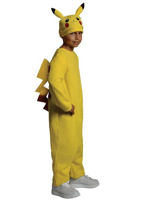 kid s deluxe pikachu costume