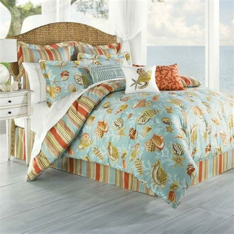 coastal coverlet coastal life coral beach queen comforter beaches coral
