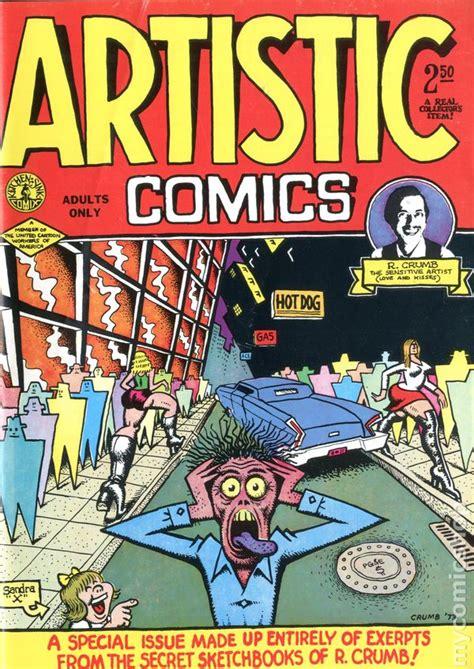 Kitchen Sink Comics Artistic Comics 1973 Golden Gate Kitchen Sink Comic Books