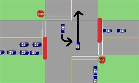 light at intersection intersections pedestrian controlled traffic lights bc