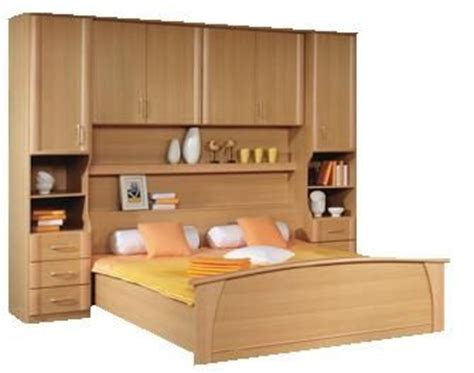 Bedroom Fitments Milos Beech Bed Fitment Bed Units The Bed