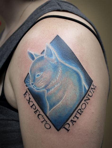 future tattoo quiz kitty cat patronus tattoo artist chaz garner harry