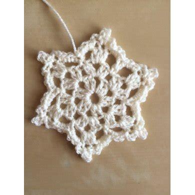 crochet snowflake pattern beginner lovecrochet homestart snowflake