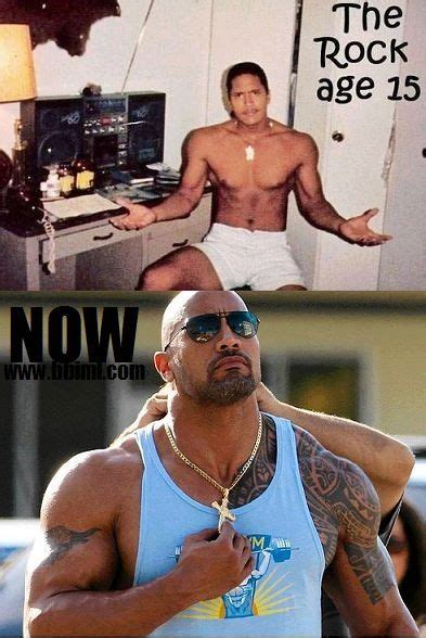 dwayne the rock johnson then and now 765 best samoa images on pinterest