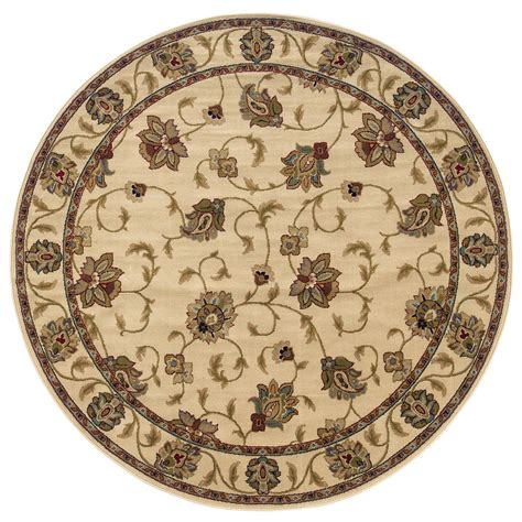 weavers of america area rugs shop weavers of america ivory indoor machine made nature area rug actual