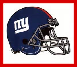 new york giants helmet sticker collections