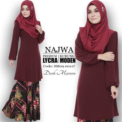 baju kurung moden yang loose busana muslimah part 5