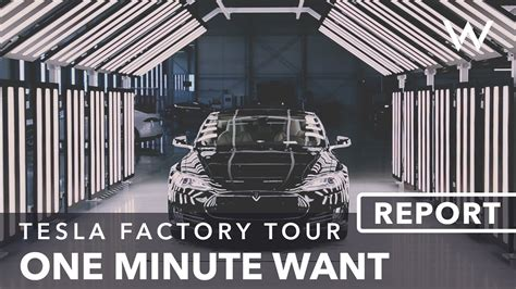Tesla Factory Tour Schedule Manufacturing Process Of Model S In Tesla Factory