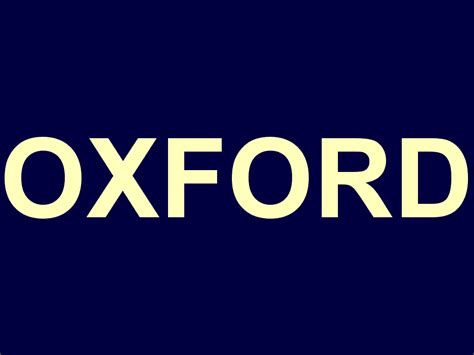 Oxford Logo oxford logo car interior design