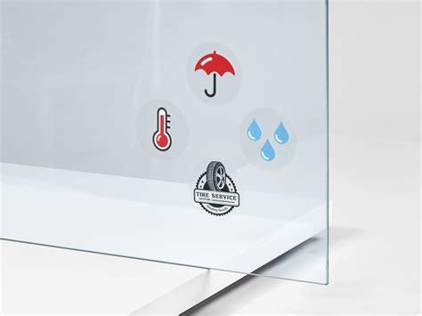 Aufkleber Drucken Quadratisch by Siebdruck Transparente Aufkleber Rund Oval Quadratisch