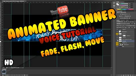 templates de banners em flash hd voice tut how to make a animated youtube banner in
