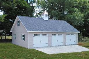 Garage Plans And Prices by Detached Attic Three Car Garage Prices Free Plans
