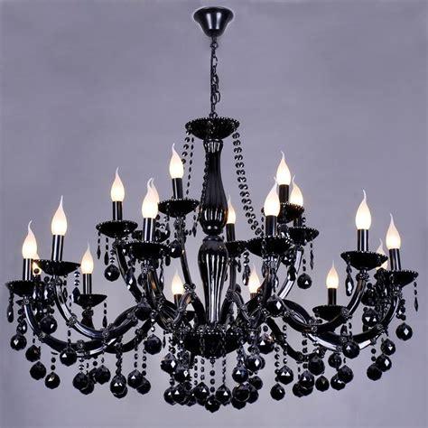 lustre baroque pas cher best baroque design style lustre en cristal noir bras