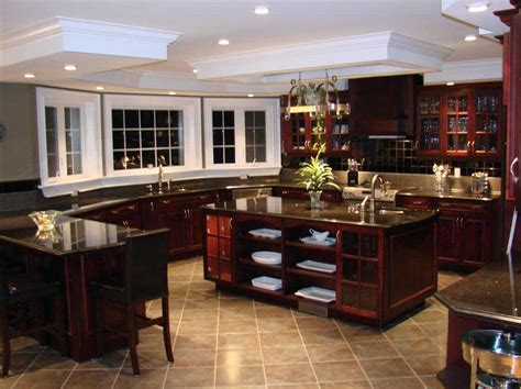 design dream dream kitchen designs with dark wooden cabinet home