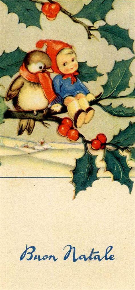 vintage italian xmas vintage christmas cards christmas illustration christmas pictures