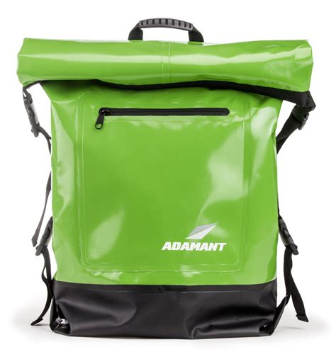 Waterproof Outdoor Bag Green adamant x waterproof bag backpack green