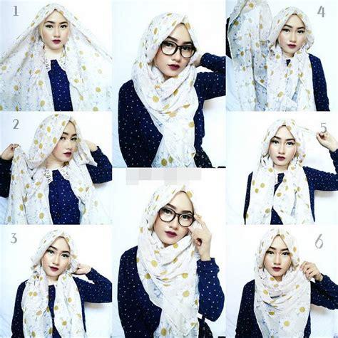 Tutorial Hijab Pashmina Motif Bunga | tutorial hijab pashmina simple untuk penilan cantik dan