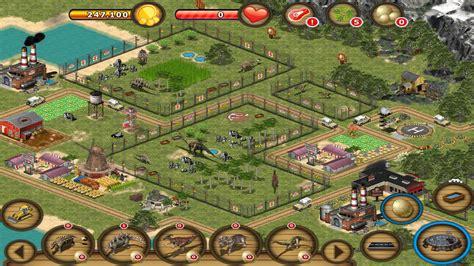 design your own zoo online game jurassic island the dinosaur zoo macgamestore com
