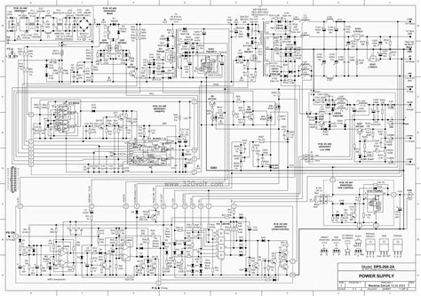 atx 450w smps circuit diagram atx schematic 450w at and atx pc computer supplies