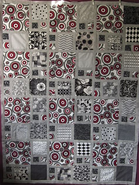 Black And Gray Quilts by Quilt Without Guilt Black And White Quilts