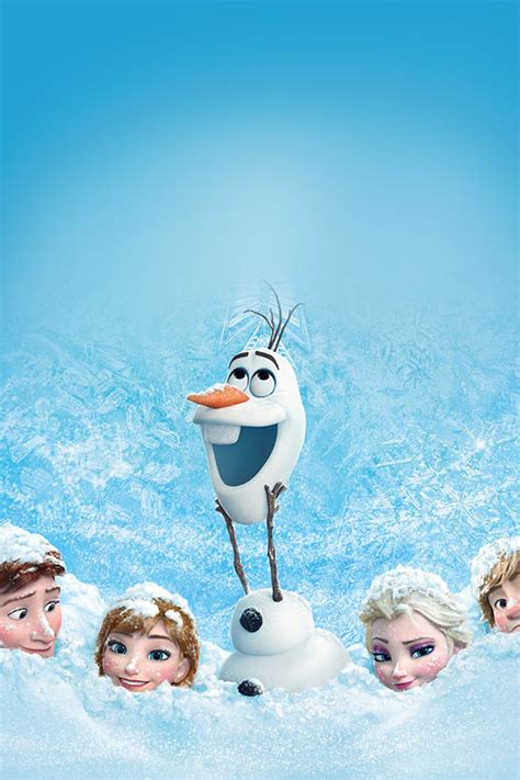 wallpaper iphone 5 frozen freeios7 frozen in snow family parallax hd iphone ipad