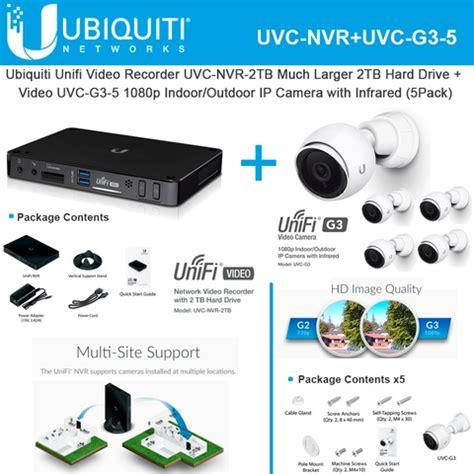 Ubiquiti Network Rocerder Uvc Nvr ubiquiti uvc nvr 2tb recorder 2tb unifi uvc g3 5
