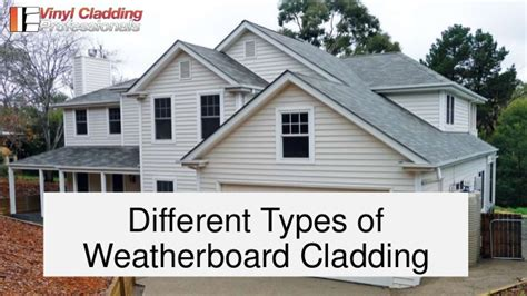 7 types of cladding types of weatherboard cladding