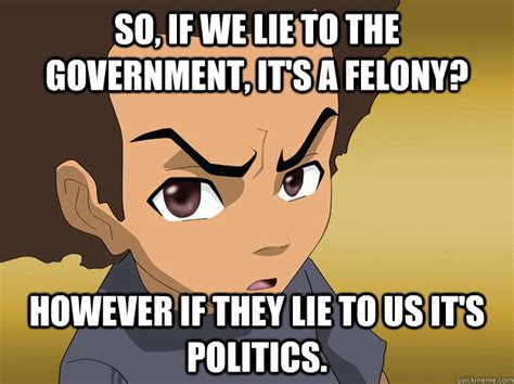 Boondocks Memes - riley boondocks quotes