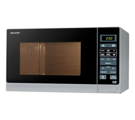Microwave Oven Sharp R 222y buy sharp r372slm microwave silver free delivery currys